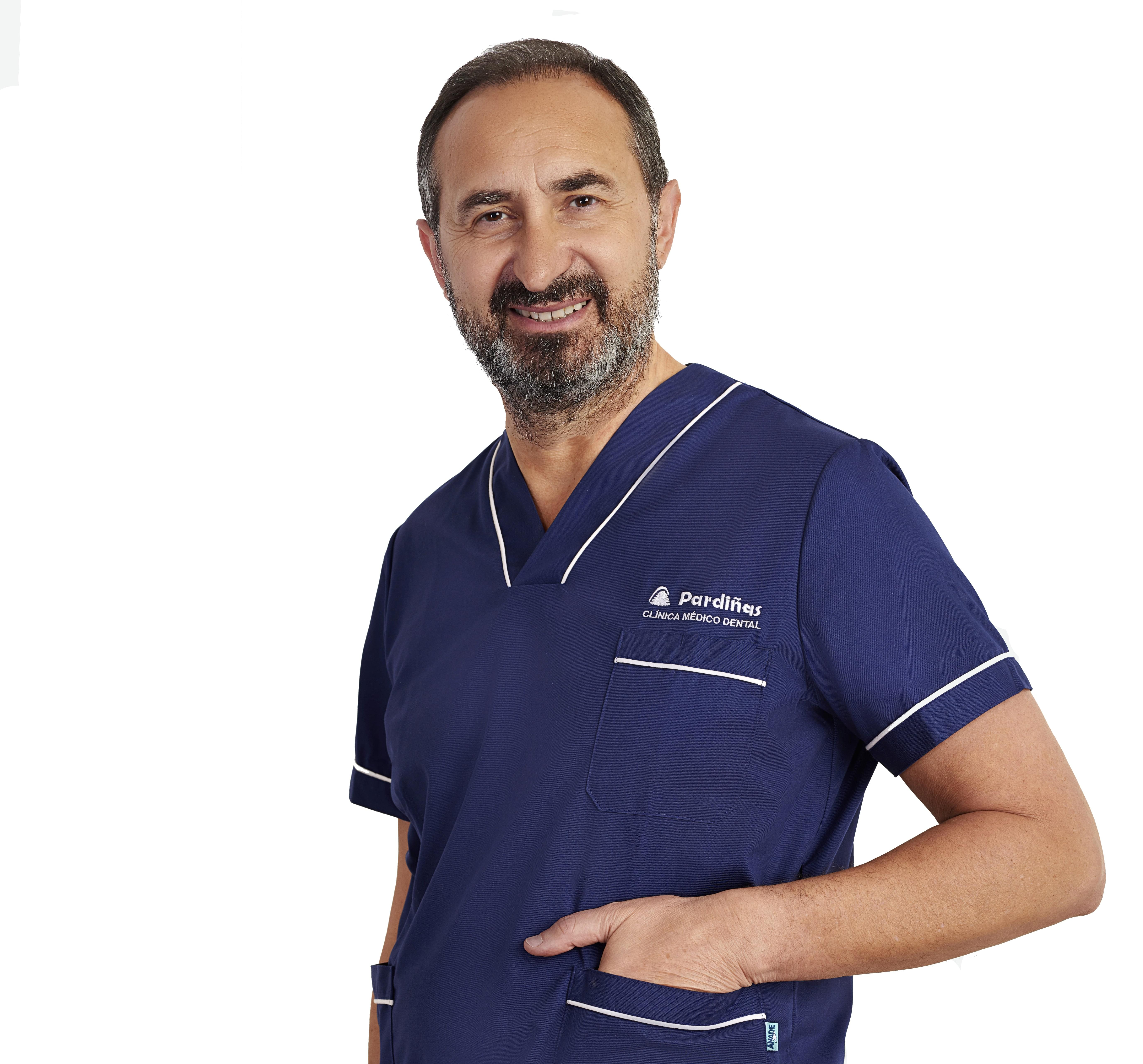 Dr. José Pardiñas Arias: Médico estomatólogo
